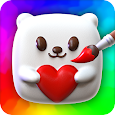 Squishy Magic: 3D Art Coloring & DIY Toys Maker apk