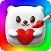 Squishy Magic: 3D Art Coloring & DIY Toys Maker icon