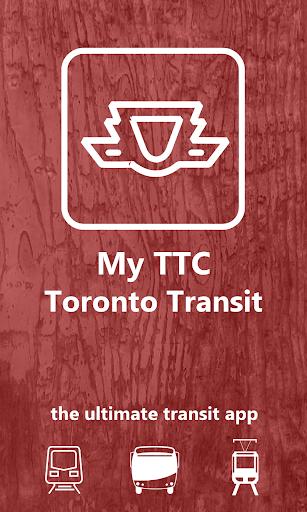 My TTC - Toronto Transit App