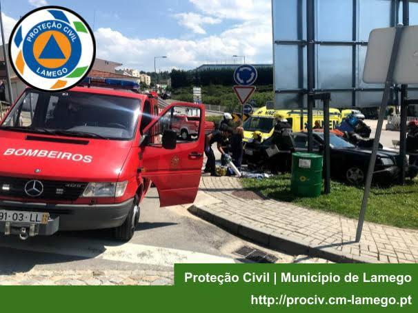 Acidente Rodoviário - Av. Egas Moniz (10/07/2018)