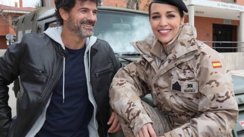 Rodolfo Sancho y Paula Echevarría, protagonistas de la segunda entrega de la serie.