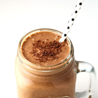 Healthy Chocolate Peanut Butter Smoothie Recipe