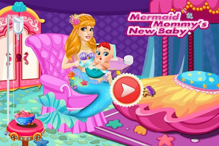android Mermaid Mommy's New Baby-Care Screenshot 6