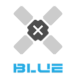 Blue.Devel X Icon