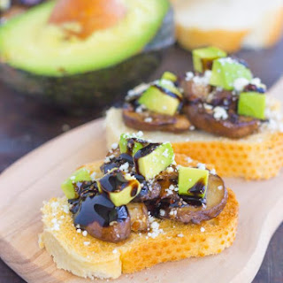 Mushroom, Avocado and Feta Toast Recipe