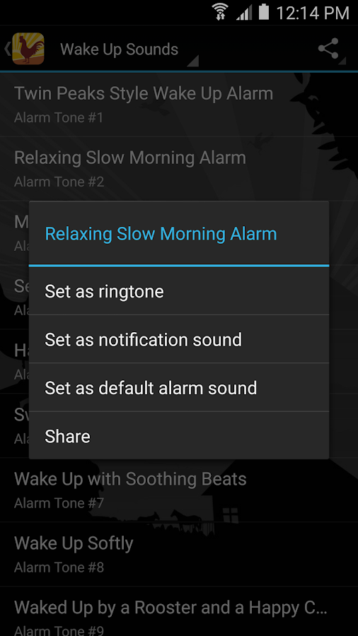 Wake Up Alarm Clock Ringtones- screenshot