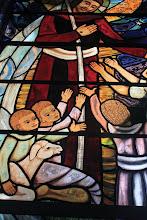 Photo: Kearsney Chapel - Stained glass window