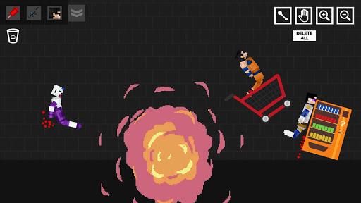 Stick Dragon Playground: Human Z apktreat screenshots 2