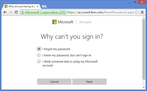 6 maneiras de redefinir a senha esquecida do Windows 10