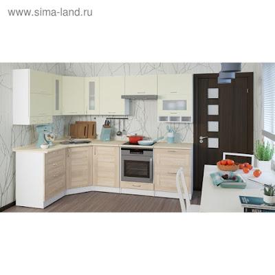 Кухонный гарнитур Камилла гранд оптима 2600*1500