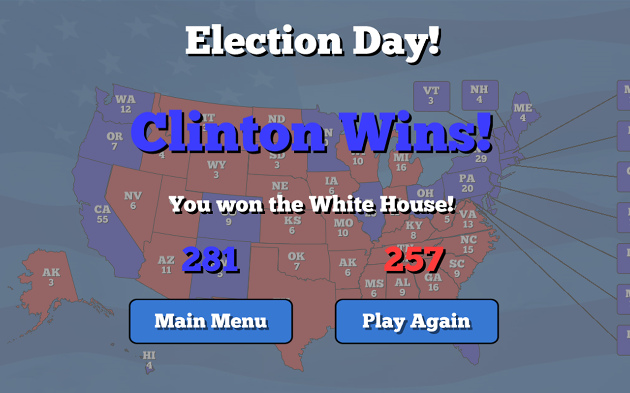Campaign Manager An Election Simulator Android Apps On Google Play - Us election map game