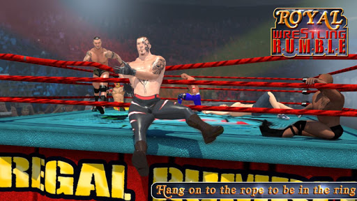 ROYAL WRESTLING RUMBLE REVOLUTION : FIGHTING 2K18 app (apk) free download for Android/PC/Windows screenshot