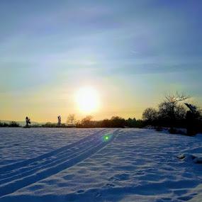 Winter sunset by Iztok Conic - Landscapes Sunsets & Sunrises