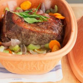 Beef Pot Roast with Red Wine Gravy