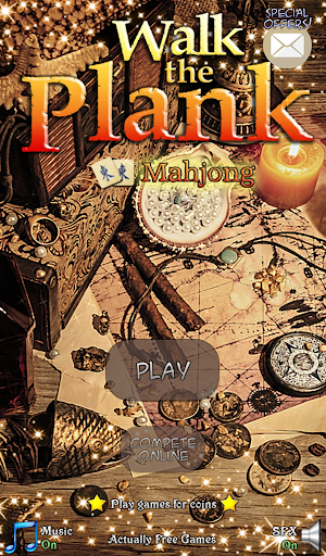 Hidden Mahjong: Walk the Plank