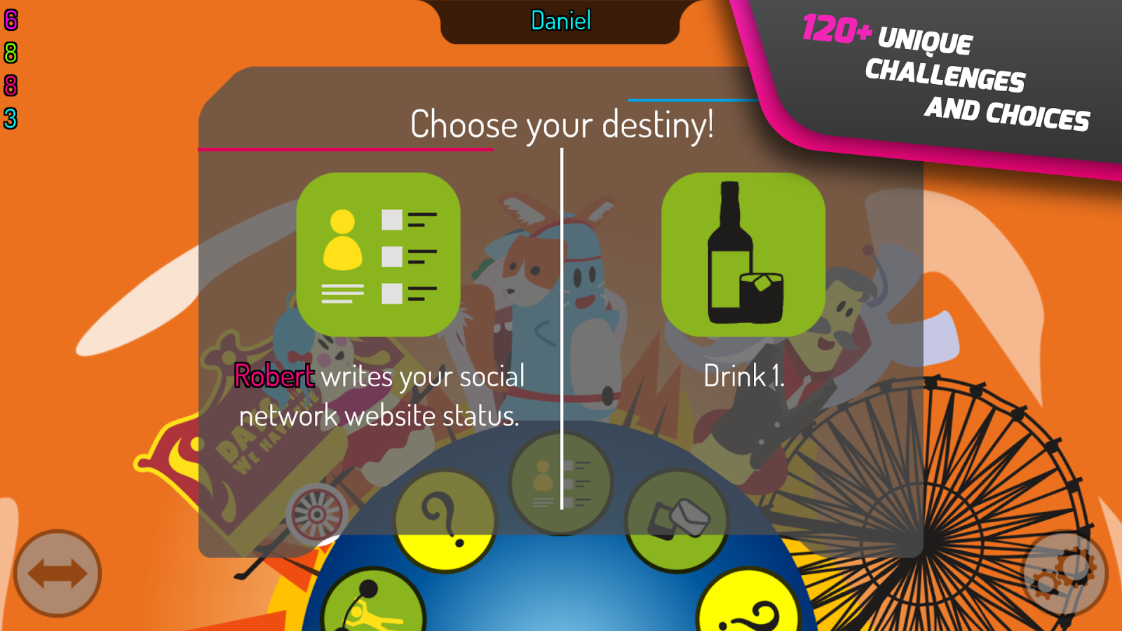 King of Booze: Drinking Game- screenshot