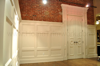 Photo: (After) Haviland's Recessed panels, 3-row, with double door by TrueStyle doors Philadelphia, PA