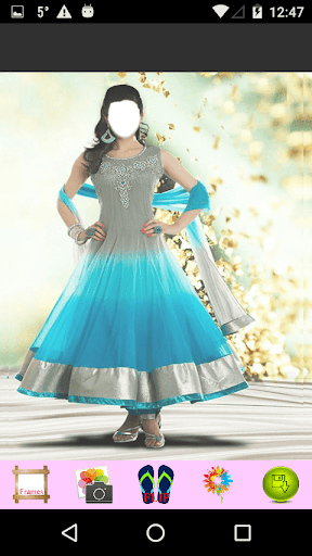Anarkali Frock Photo Editor 1.6 screenshots 4
