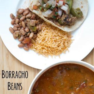 Borracho Beans with Chorizo Sausage