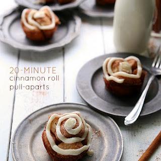 {20-minute} Cinnamon Roll Pull-aparts