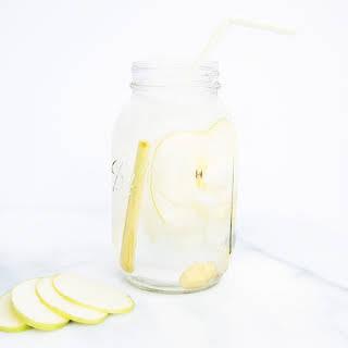 Apple-Ginger-Lemongrass Infused Water.