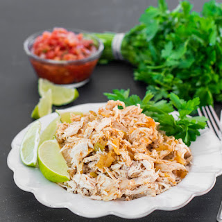 Crockpot Mexican Chicken.