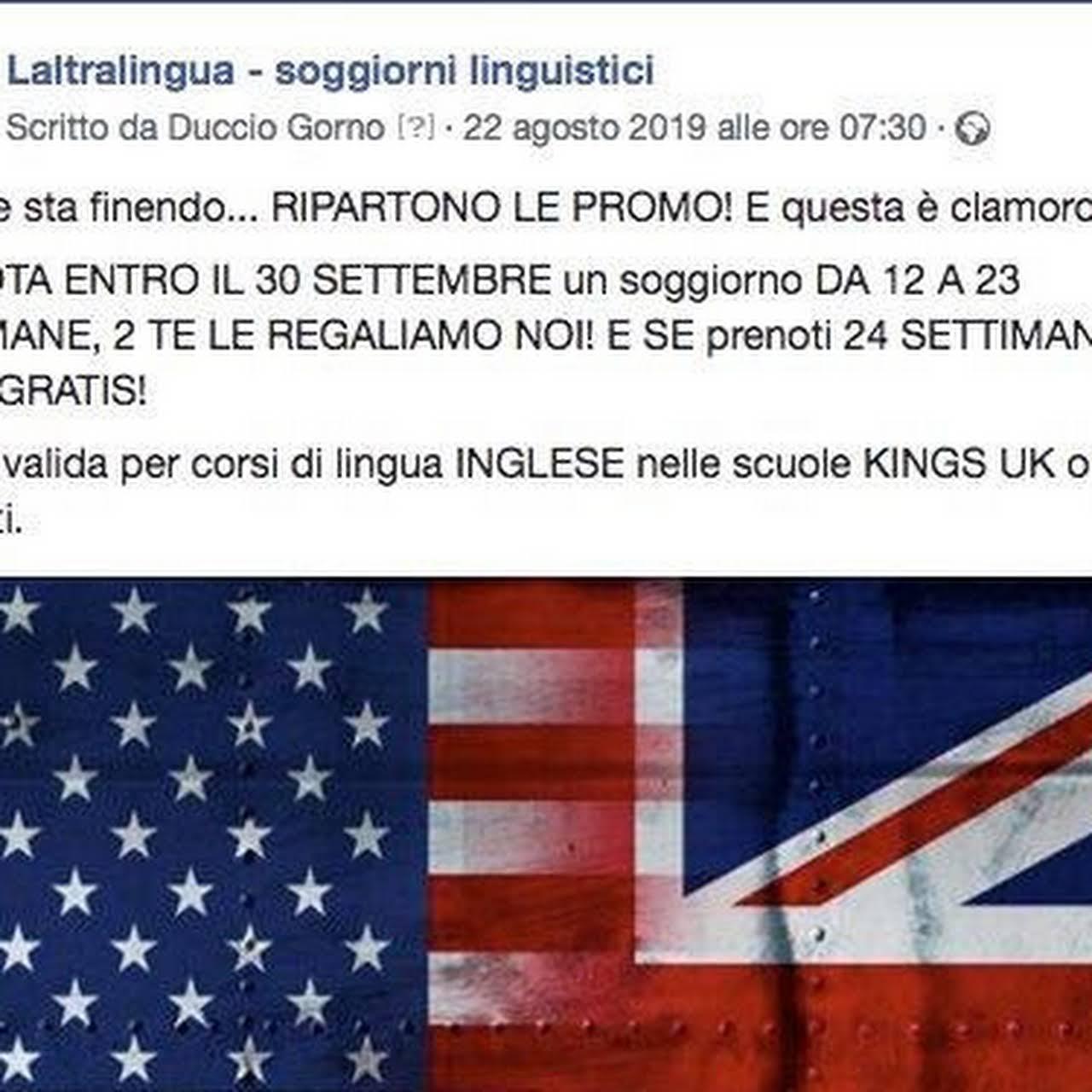 laltralingua - soggiorni linguistici - Scuola Di Lingue a Lugano