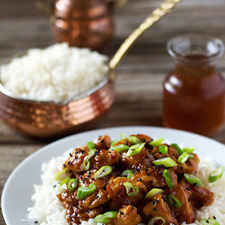 Spicy Orange-Ginger Chicken Recipe
