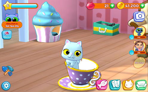 Kitty Keeper: Katzen Sammler Screenshot