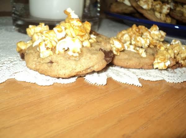 Chocolate Chip Caramel Corn Cookies