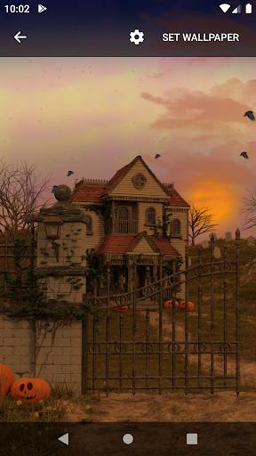Scary House Live Wallpaper screenshot 2