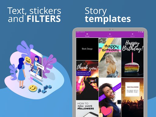 Foto do PostMuse: Story Maker (Stickers, Text Over Photos)