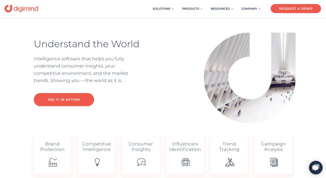 Digimind Лучшие сервисы мониторинга социальных сетей в 2020