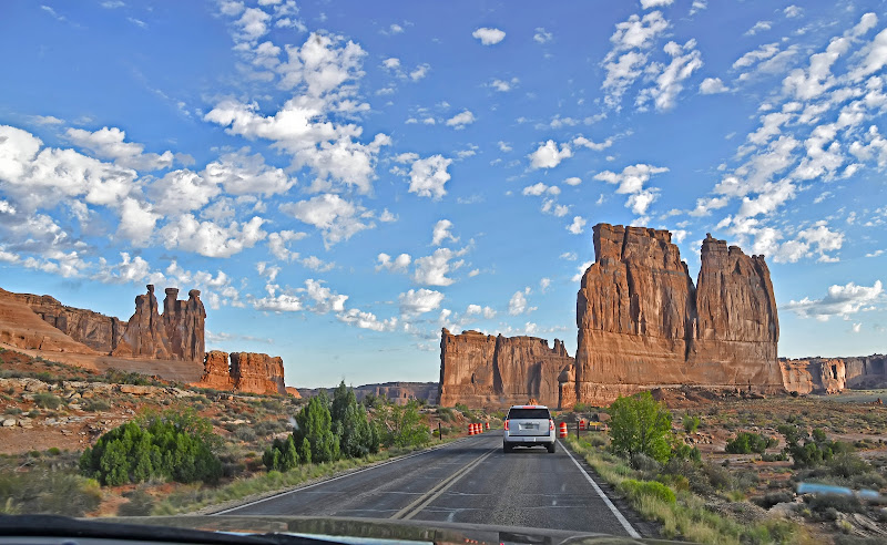 Viaggio verso Arches National Park di Patrix