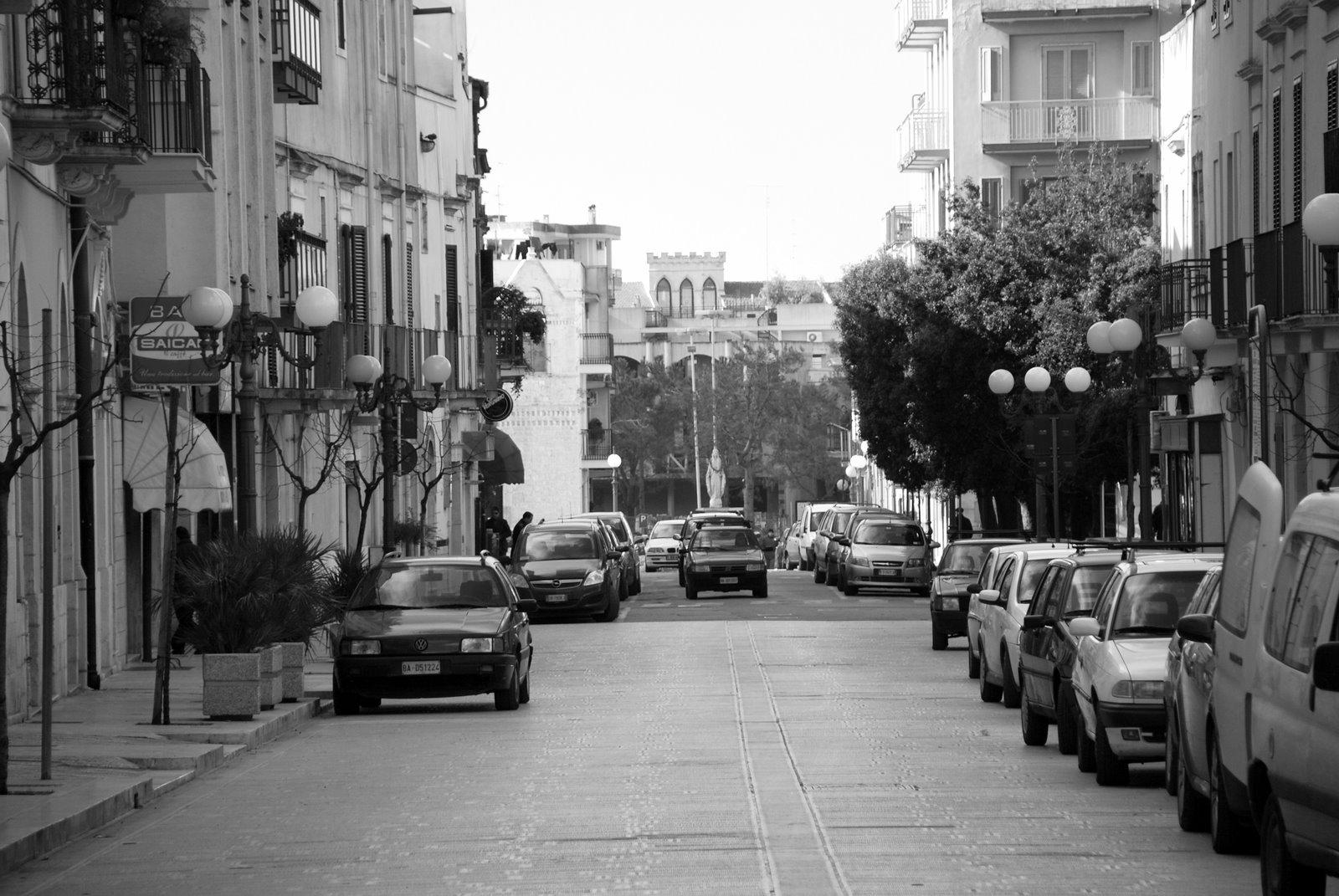 Photo: via XX Settembre - Turi  main avenue