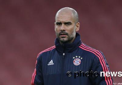 Na het gelijkspel van Bayern München tegen Borussia Dortmund nam Guariola Joshua Kimmich even bij zich