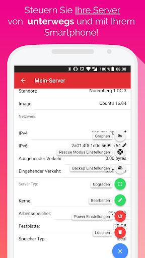 Hetzner Cloud Mobile screenshot 1