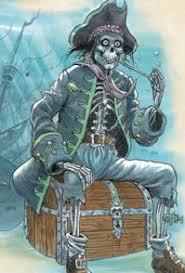 DAVY JONES' LOCKER - a spooky pirate story - Saviour Pirotta