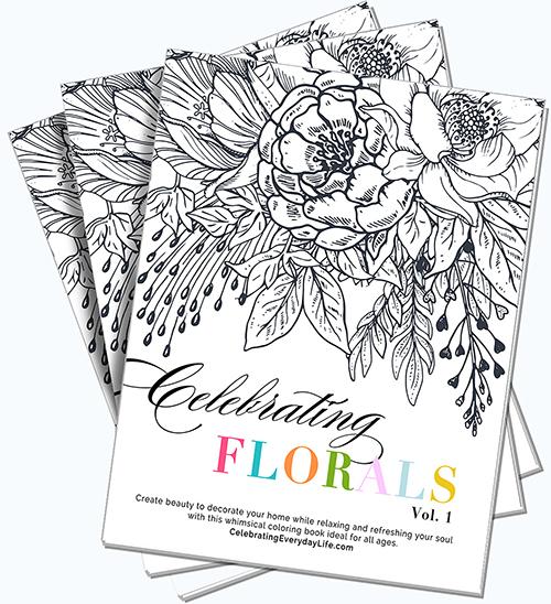 Celebrating Florals Vol. 1
