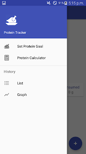 Protein Tracker - náhled