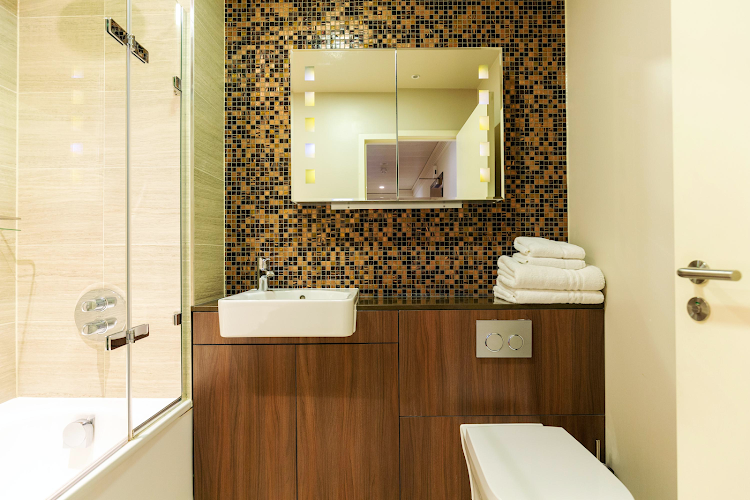 Bathroom at Monument - Lovat Lane Apartments