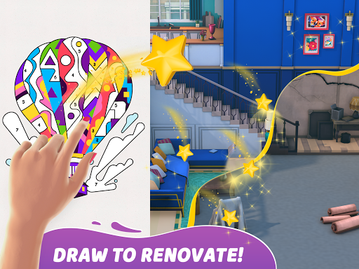 Gallery: Coloring Book by Number & Home Decor Game  screenshots 9