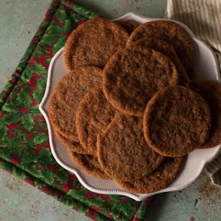Chewy Citrus Molasses Spice Cookies Recipe