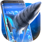 3D tiger sharks theme icon