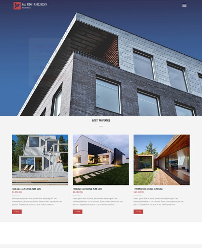 Build a Prime property Website