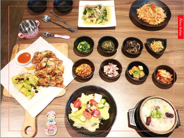 喜樂韓式料理-山上的階梯。海鮮煎餅料多味美。雪濃豬骨湯香醇肉嫩。充滿健康風味的韓式料理。小菜無限供應。好停車