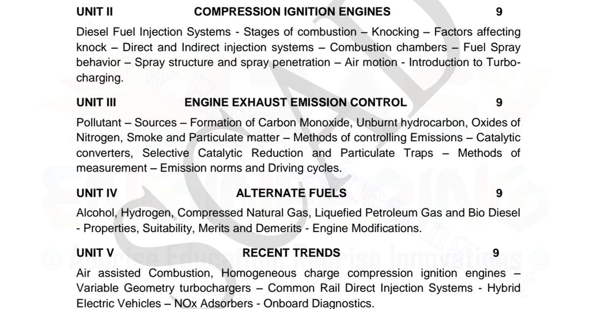 Diesel Engine Knocking And White Smoke