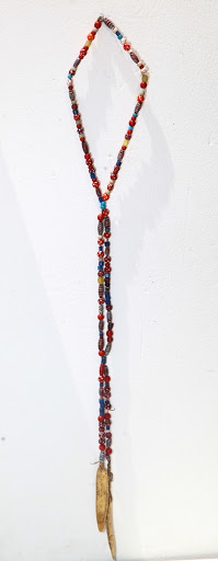 Dinka beaded necklace