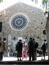 Photo: 020a Basilica di San Giuston ruusuikkuna