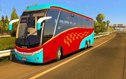 US Smart Coach Bus 3D: Free Driving Bus Games apktram screenshots 4